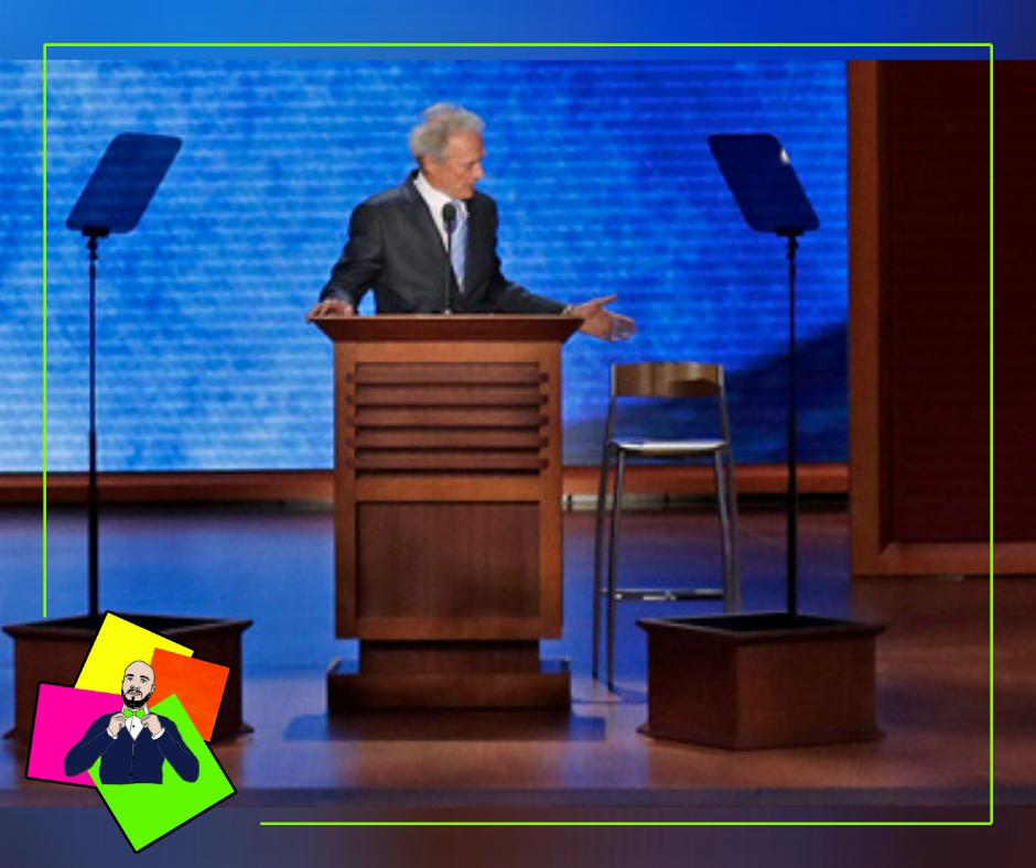 Quella volta che Clint Eastwood parlò a una sedia